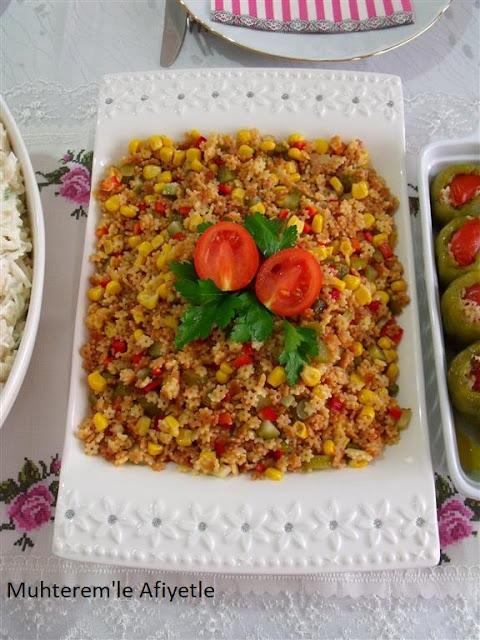 akraba günü için salata tarifi