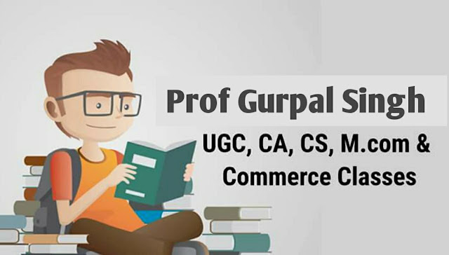 Ugc NET Commerce Notes