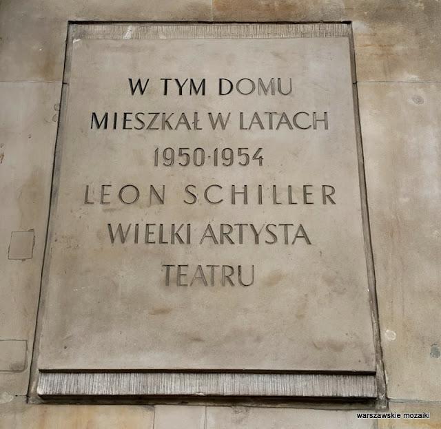 Schiller Warszawa Warsaw Stary Mokotów kamienica Luniak modernizm