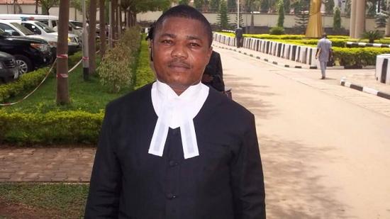 Barrister Ifeanyi Ejiofor, lawyer to Nnamdi Kanu