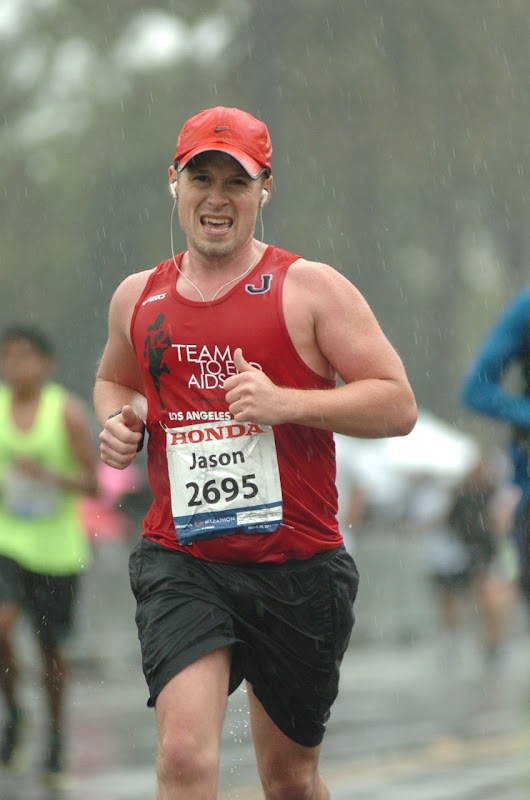 Jason at LA Marathon 2011