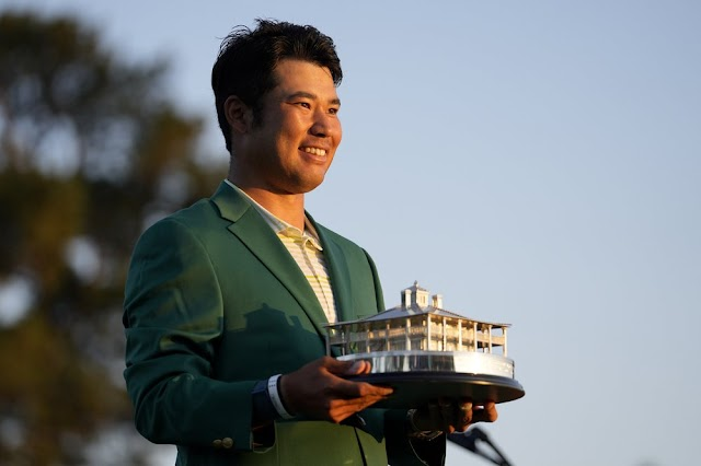 Japan Prime minister leads celebrations of first Japanese participant  Matsuyama's Masters win in Golf