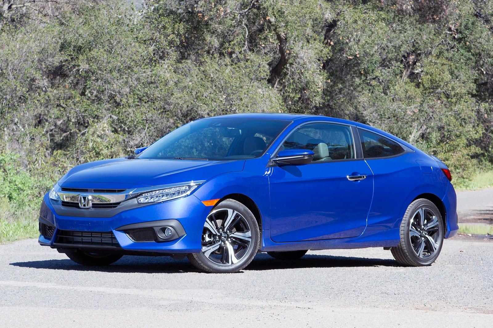 Honda Civic Coupe 2016 sẽ nối tiếp thành công của người anh em sedan?