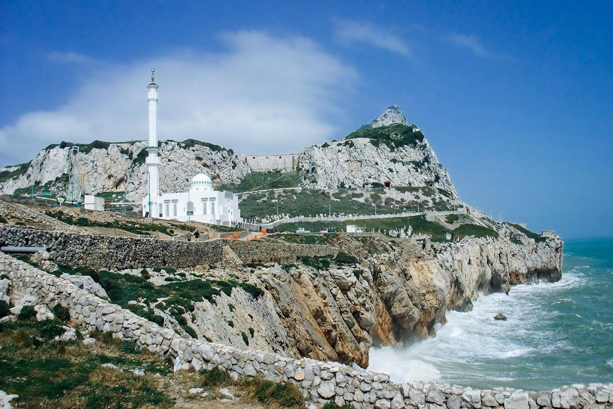 Visitar a Andaluzia - Mesquita em Gibraltar