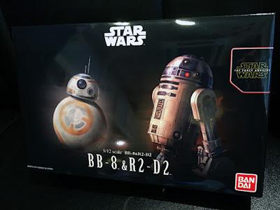 BB-8 & R2-D2のプラモデル