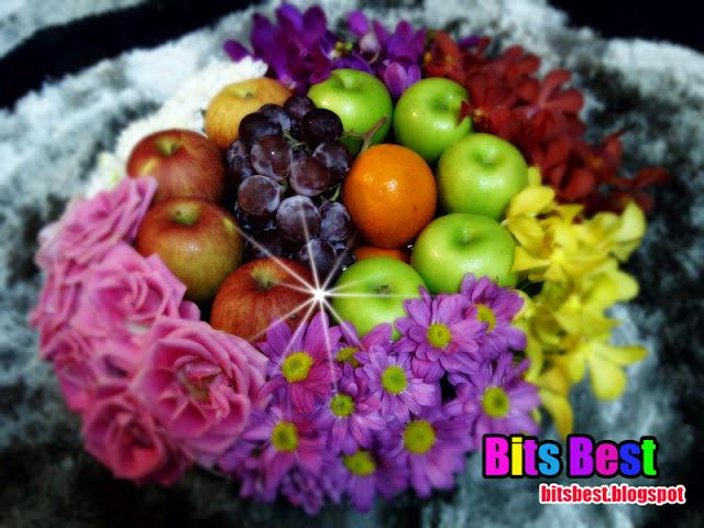 Bits Best Tutorial membuat gubahan hantaran bunga segar