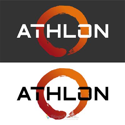 AMD Athlon Logo Vector