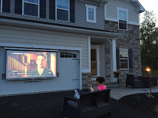 Ryan Homes Venice, Outdoor Movie Theater, Driveway Movie Theater, Projector Ideas