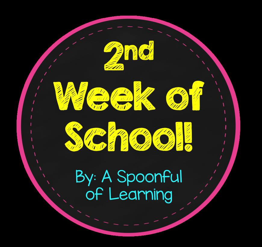 2nd Week of School! + FREEBIES!