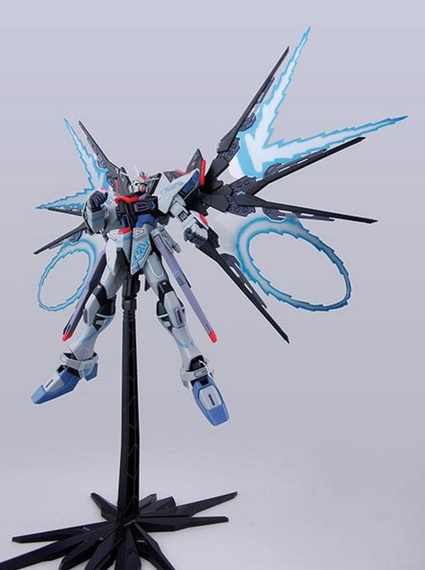 GUNDAM GUY: MG 1/100 Strike Freedom Gundam MECHANIC ...