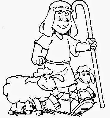 El Renuevo De Jehova: El Buen Pastor - Imagenes para colorear ...
