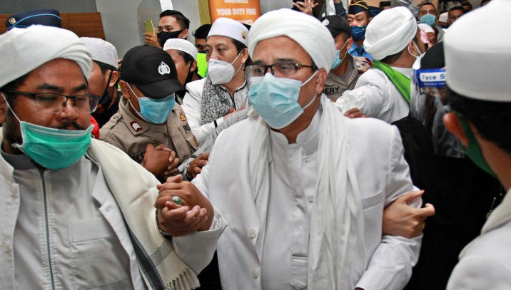 Habib Rizieq is proposed to be a peacemaker for Papua