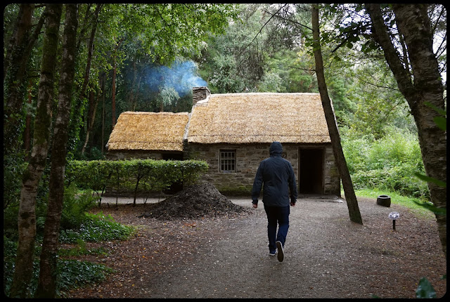 1700s Irish country cabin - Ulster American Folk Park - Carrie Gault 2018