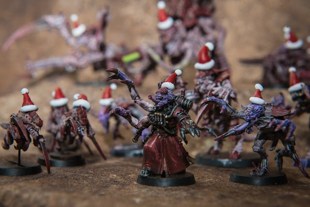 What's On Your Table: Tyranids gathering for a festive holiday feast!