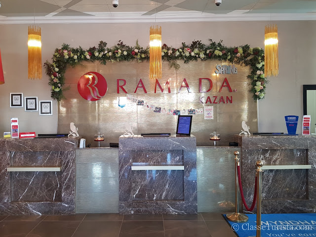 Recepção - Ramada Kazan City Center