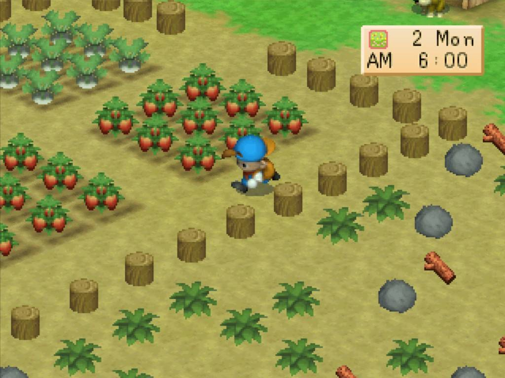 My online game: free download games harvest moon back to nature.
