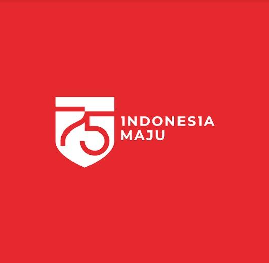 Logo Resmi HUT ke-75 Kemerdekaan RI Tahun 2020