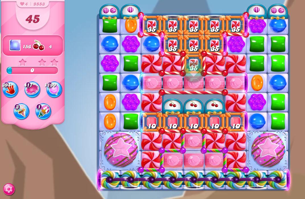 Candy Crush Saga level 9553