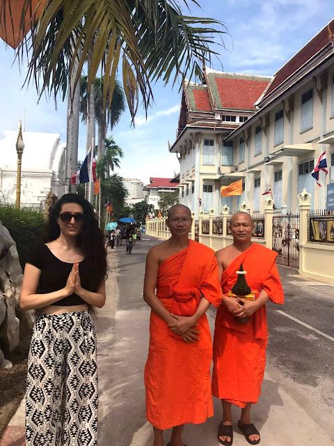 Buda Rahipleri, Bangkok