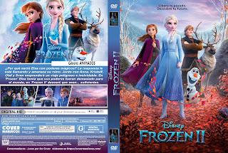 CARATULA 2 - FROZEN 2 - 2019[COVER DVD]