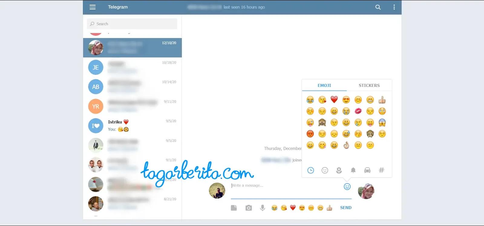 Cara Penggunaan Sosial Media Telegram - Cara Menggunakan Aplikasi Telegram