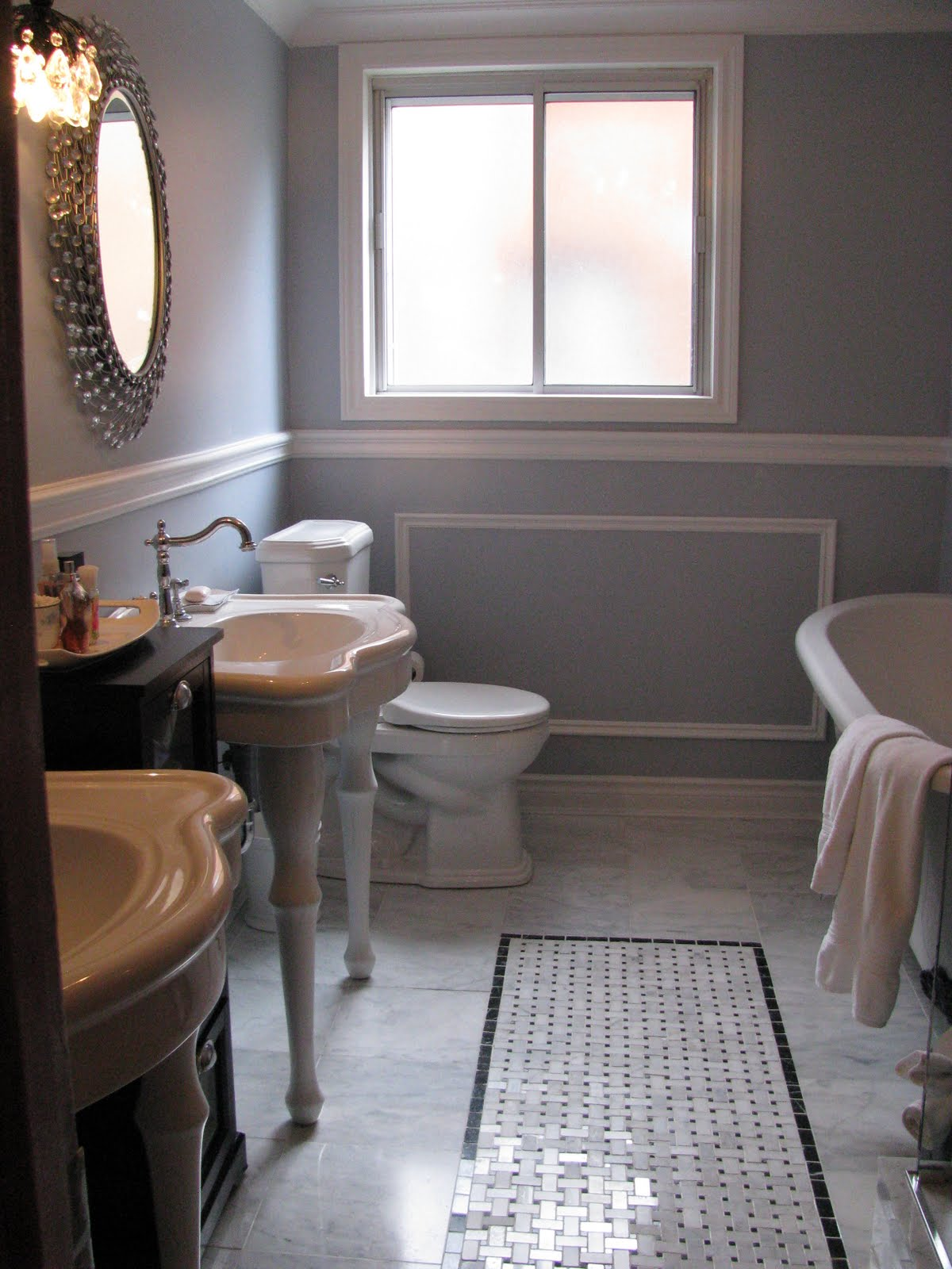 Remodelaholic Gorgeous Complete Bathroom Transformation Gut - I need to redo my bathroom