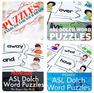 https://www.teacherspayteachers.com/Product/American-Sign-Language-Preprimer-Dolch-Sight-Word-Puzzles-3033617