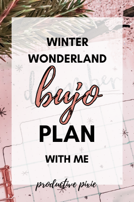 Plan With Me December Bullet Journal
