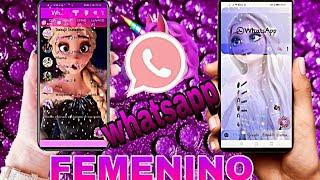 NUEVO WHATSAPP FEMENINO v8.61 el mejor estilo nunca antes visto FUNCIONES A OTRO NIVEL