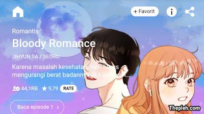 Bloody Romance Webtoon