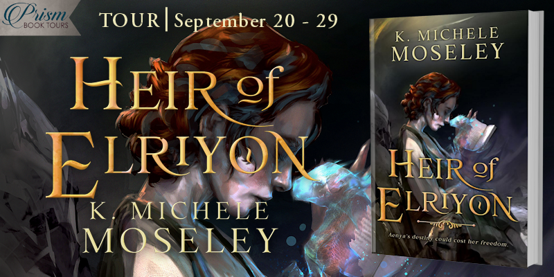 We're launching the Book Tour for HEIR OF ELRIYON by K. Michele Moseley!