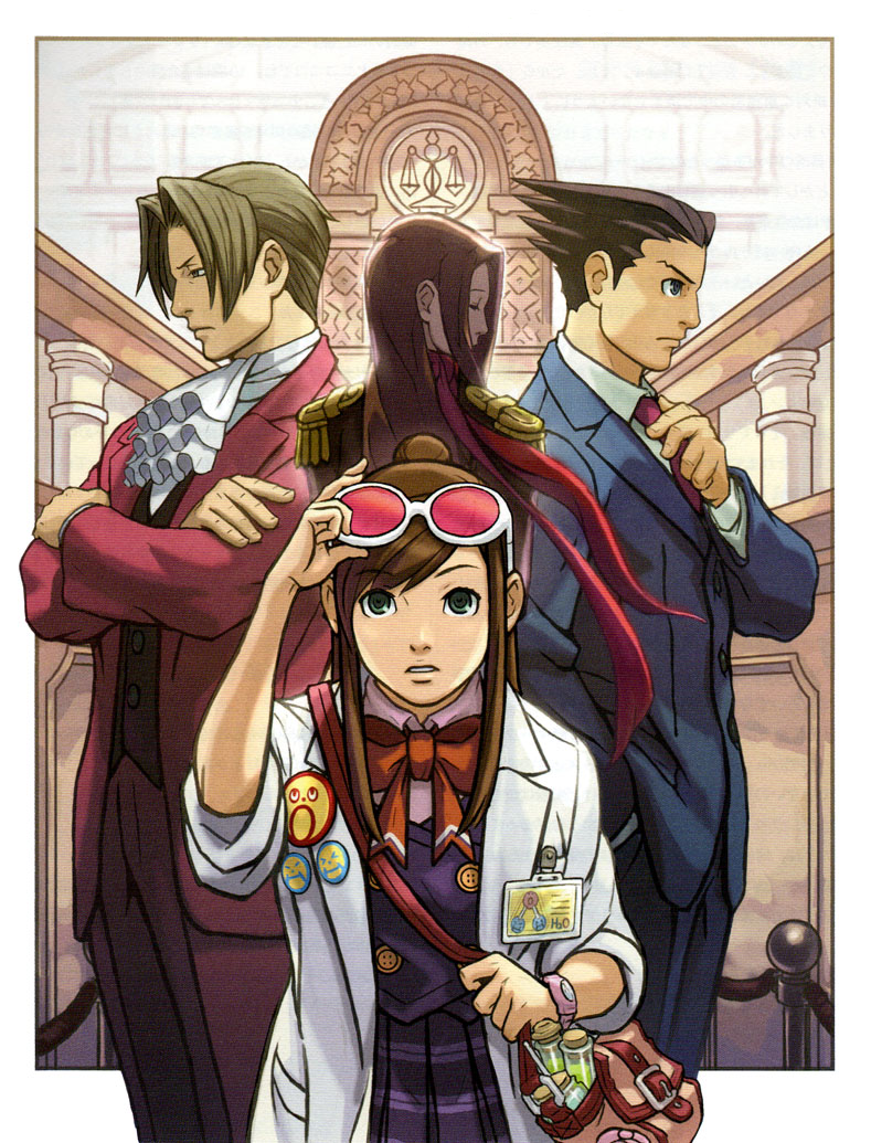 Game Time With Manny: Review of DLC for Phoenix Wright: Ace
