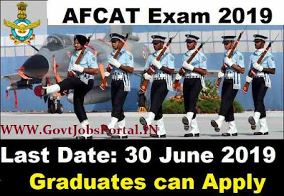 Indian Air Force AFCAT Exam 2019