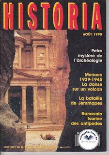 Revue Historia, 524 1990, La bataille de Jemmapes