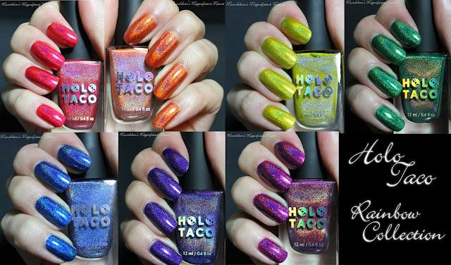 Holo Taco Rainbow Collection