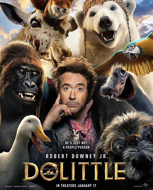 Sinopsis Film Dolittle (2020) - Robert Downey Jr., Tom Holland