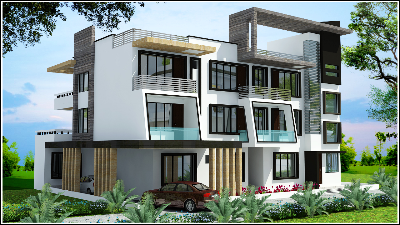 Ghar planner leading house plan and house design for Plan of bungalow in india