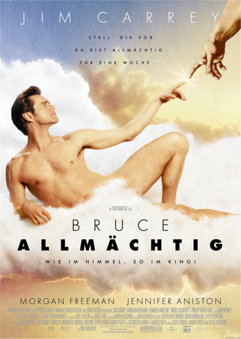 Bruce Almighty 2003 Dual Audio ORG Hindi 720p BluRay 900MB DD5.1ch ESubs poster
