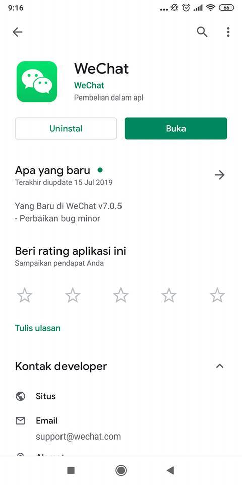 Akun wechat cara mengaktifkan kembali WeChat