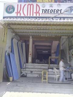 KCMR CONSTRUCTIONS tirupati