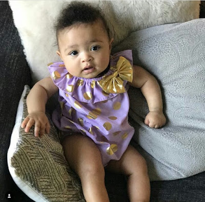 So yummy! Serena Williams shares adorable photos of her daughter, Alexis Olympia as she turns six month today