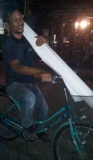 sepeda dalam pabrik