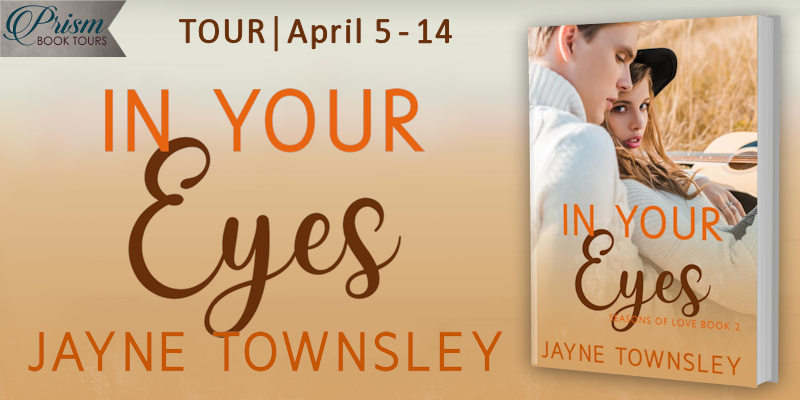 We're launching the Book Tour for IN YOUR EYES by Jayne Townsley!