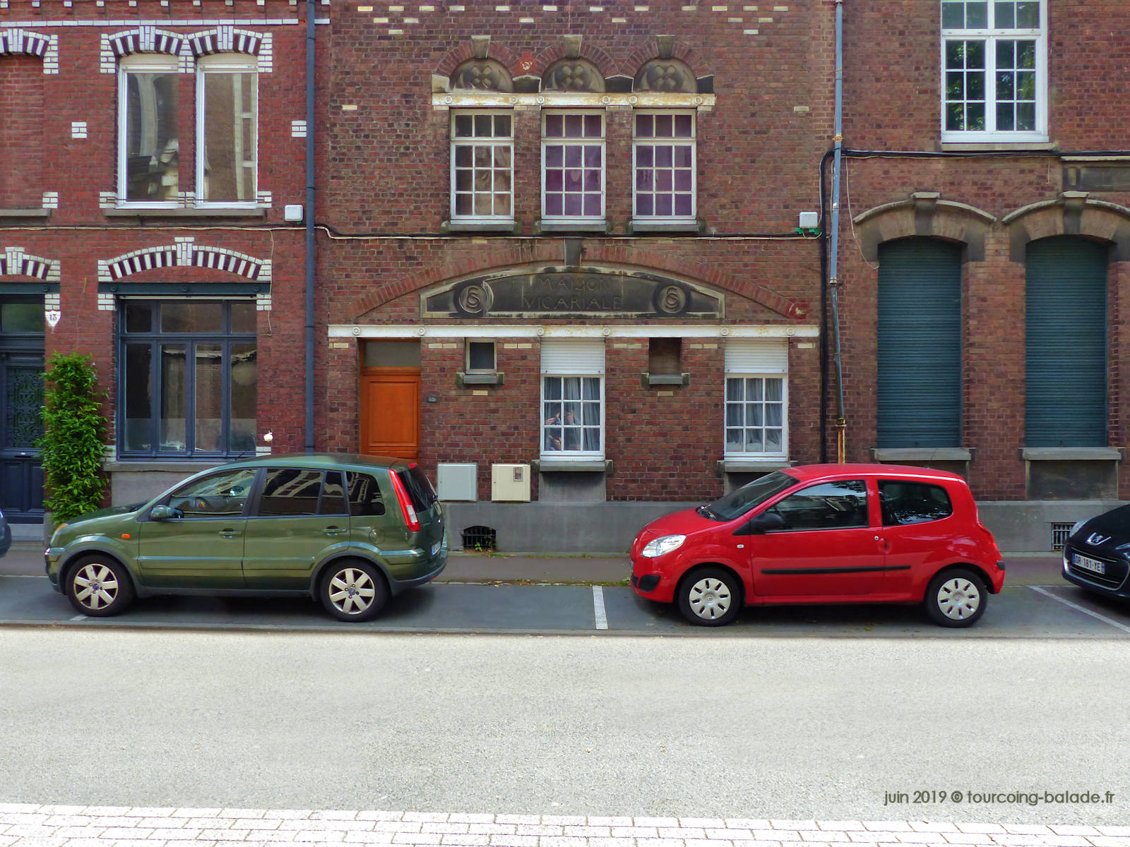 Ancienne Maison Vicariale, Tourcoing 2019