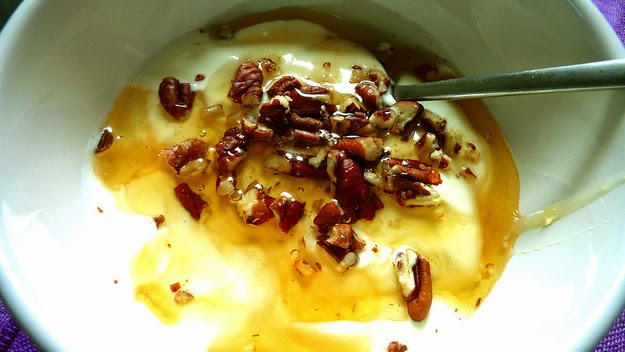 19. Breakfast in Greece is something special. (Greek yogurt with pine honey and toasted nuts.)- 49 Reasons To Love Hellas (Greece)