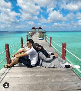 Honeymoon di Derawan