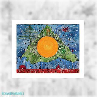 Πίνακας Ελένης Πολυχρονάτου (Όλα παραχωρούνται από σένα)
