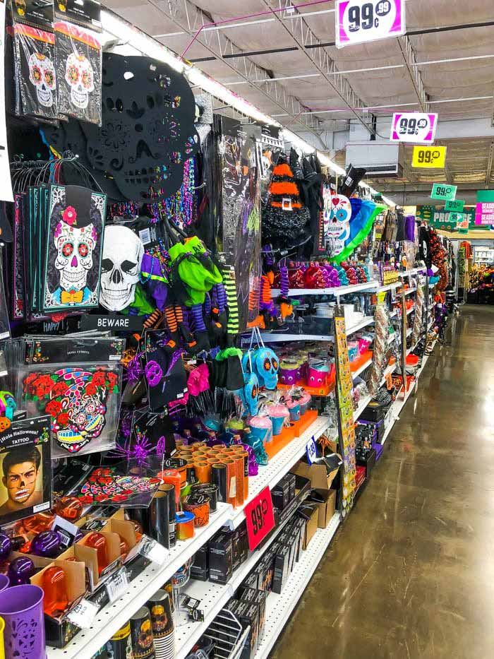 Halloween Decor at 99 Cents Store