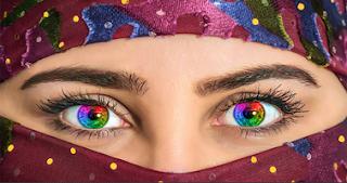 cara mengubah warna mata di photoshop