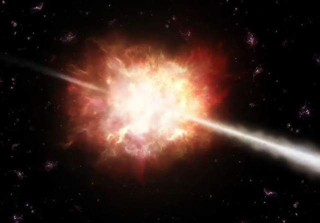 Mechanism for gamma-ray bursts from space decoded